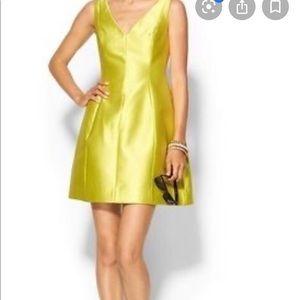 Kate Spade electric yellow dress